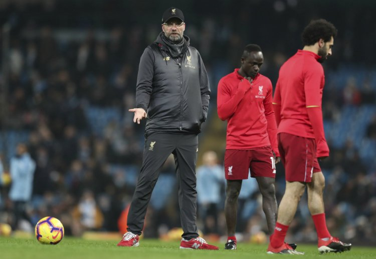 """Jurgen Klopp claims he has sympathy for fans who root against Liverpool winning their first #PL title in 29 years. #LFC   """"I cannot use them for motivation because they are not people I am interested in, to be honest."""""""
