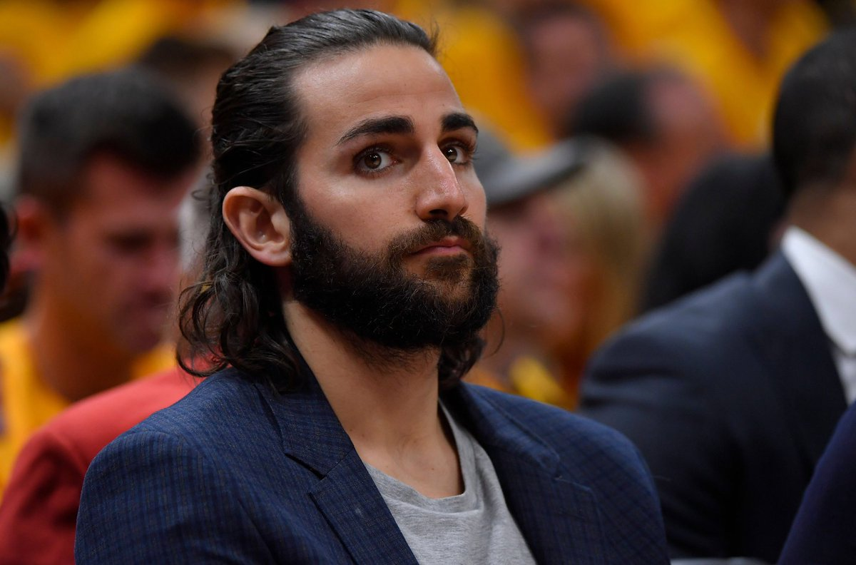 The Ghost of Ricky Rubio Future is at the Wolves game tonight
