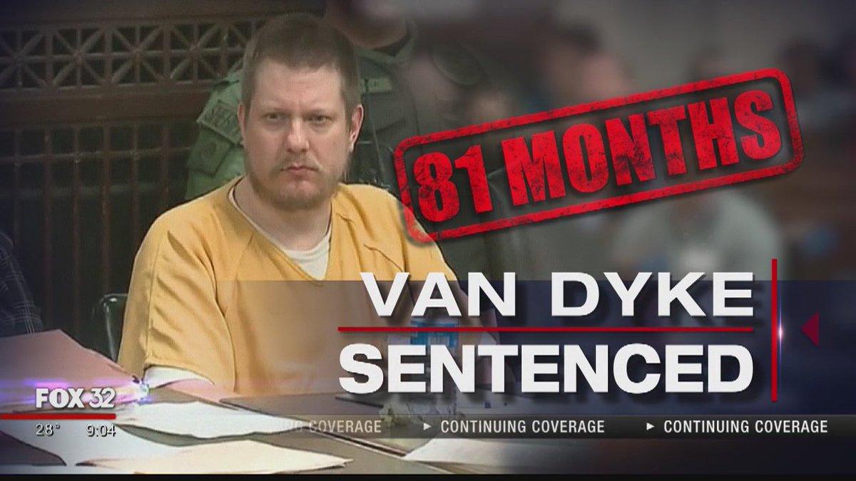 Jason Van Dyke gets nearly 7 years in prison for killing of Laquan McDonald https://t.co/UelldI4Ucb @LarryYellen &  rep@dsplackoort