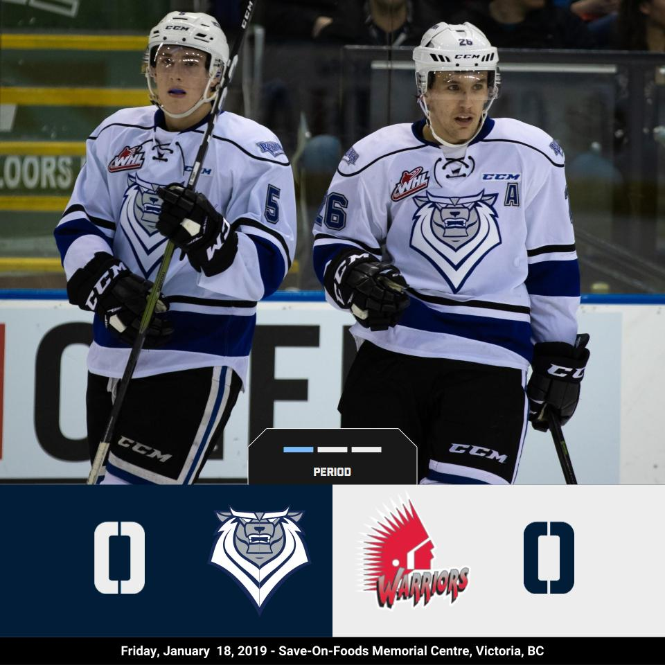A scoreless first 20 minutes of play, with us leading shots 13-4!   #RoarWithUs https://t.co/MuxSA1Uz4v