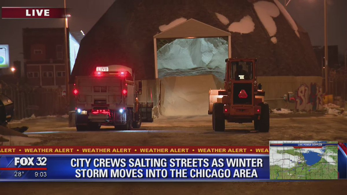 Chicago braces for severe winter storm; 9 inches of snow possible overnight https://t.co/3HT8U2hKSf @michelehana &  rep@ElizabethFox32ort