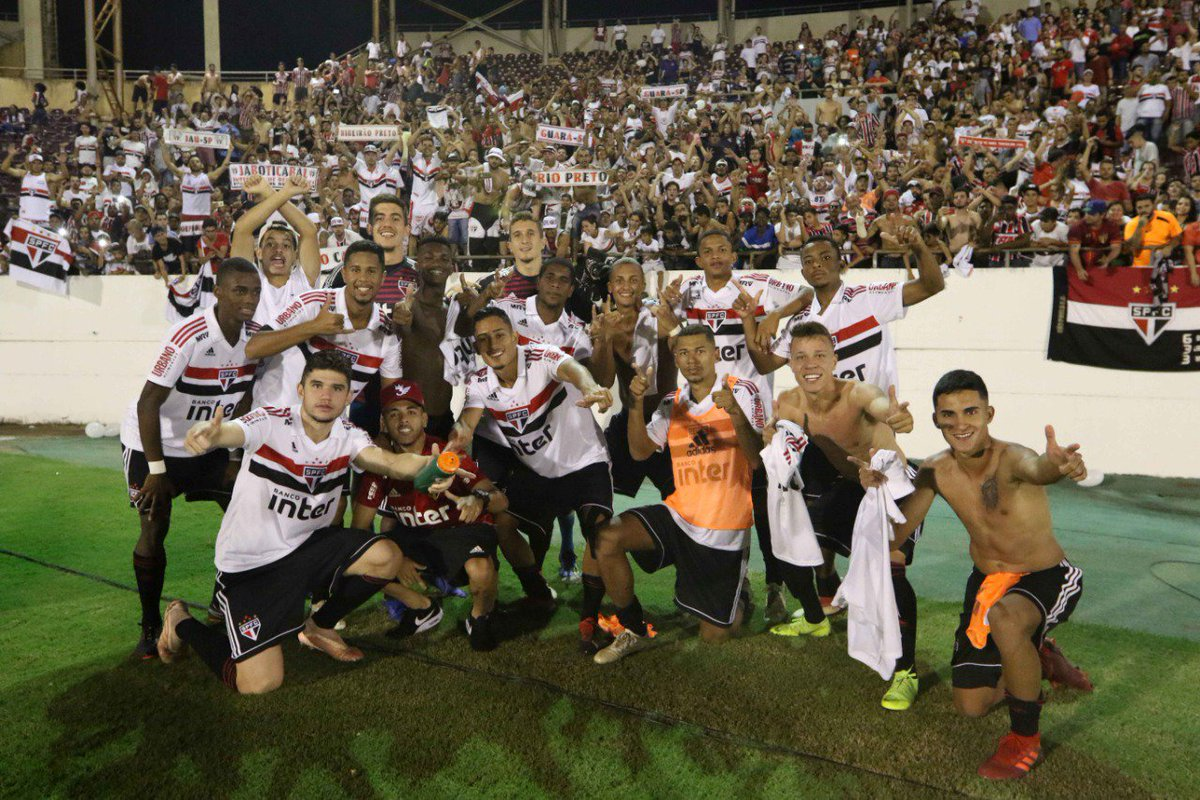 COPA SP: Definido o horário da semifinal entre São Paulo e Guarani, na próxima terça-feira, dia 22, em Araraquara, na Arena da Fonte Luminosa: 19h15, com transmissão Sportv e ESPN #VamosSãoPaulo 🇾🇪