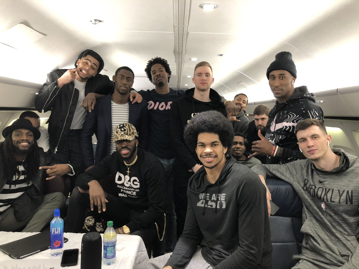 GREAT ROAD WINS...We getting better EVERYDAY... Let's keep grinding @brooklynnets ... #TeamCarroll #Blessed #EVERYDAY <br>http://pic.twitter.com/18C5gN9mNw