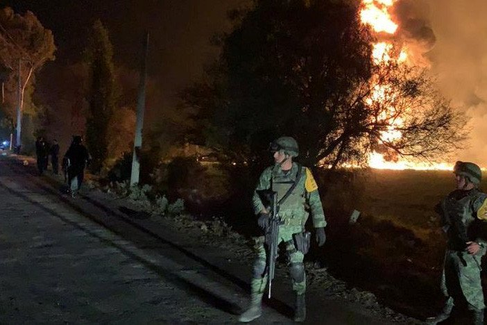 20 dead, dozens injured after pipeline explosion in Mexico https://t.co/5bnZI6JevJ
