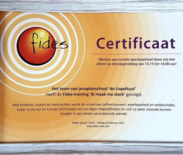 """test Twitter Media - Het team van @delispeltuut in Hedel heeft de Fides-training """"Ik maak me sterk"""" gevolgd: werken aan zelfvertrouwen, weerbaarheid en welbevinden #trots .https://t.co/KUrhLc3xL1 https://t.co/5ZkPWkHnUA"""