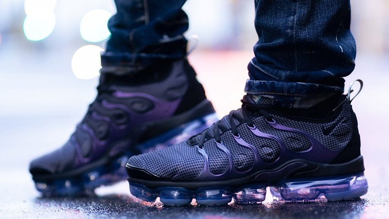 "NIKE AIR VAPORMAX PLUS ""Megatron"" A color scheme devoted to the autobot s  number one 2876a6774"