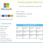 Here is the #CSR Portfolio of Microsoft India Pvt Ltd https://t.co/RzXZ8k0Xjy #CSRinIndia