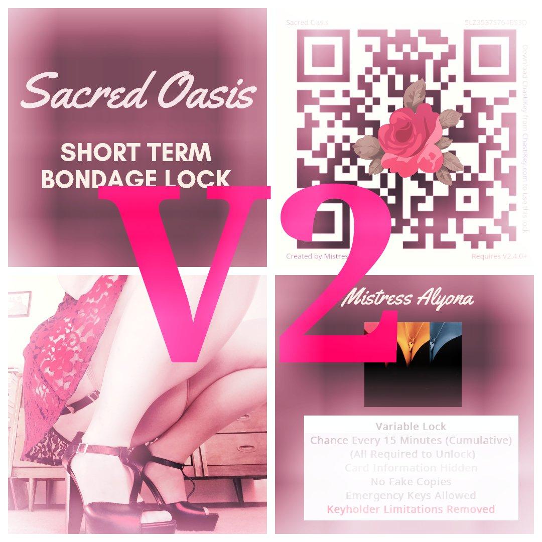 Only 10 spots left in Sacred Oasis V2. Lock away your chastity keys with me on @ChastiKeyApp  #keyholder #Chastity #chastikey #femdom #tease #denial #key #lock #cage #cage https://chastikey.com/sharedlock/JMZ8XB8QX7VF5P3… @robertgiguere59 @RayColt1