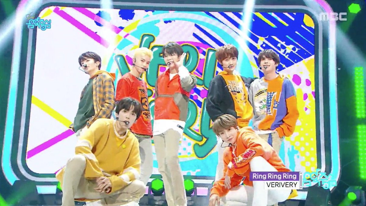 WATCH: #VERIVERY Takes To The Stage With 'Ring Ring Ring' On 'Music Core' https://t.co/PgnROczENJ https://t.co/JbUCFY7Uh6