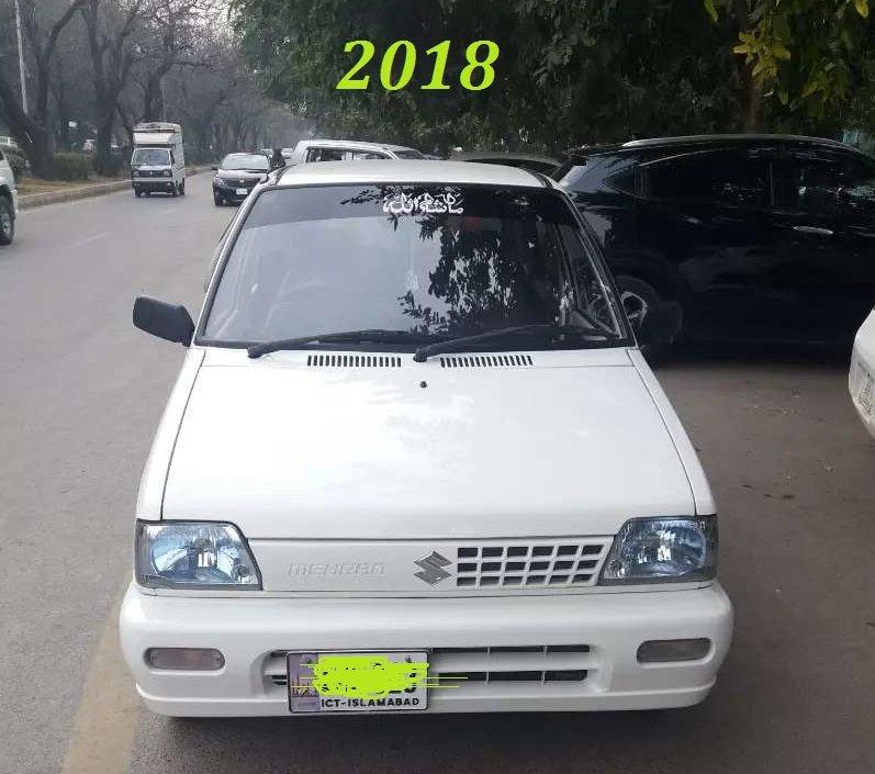 RT @Amazing_pk: Worst #10yearchallenge Suzuki Mehran 2008 & 2018 A shame! https://t.co/WGgzD4TitS