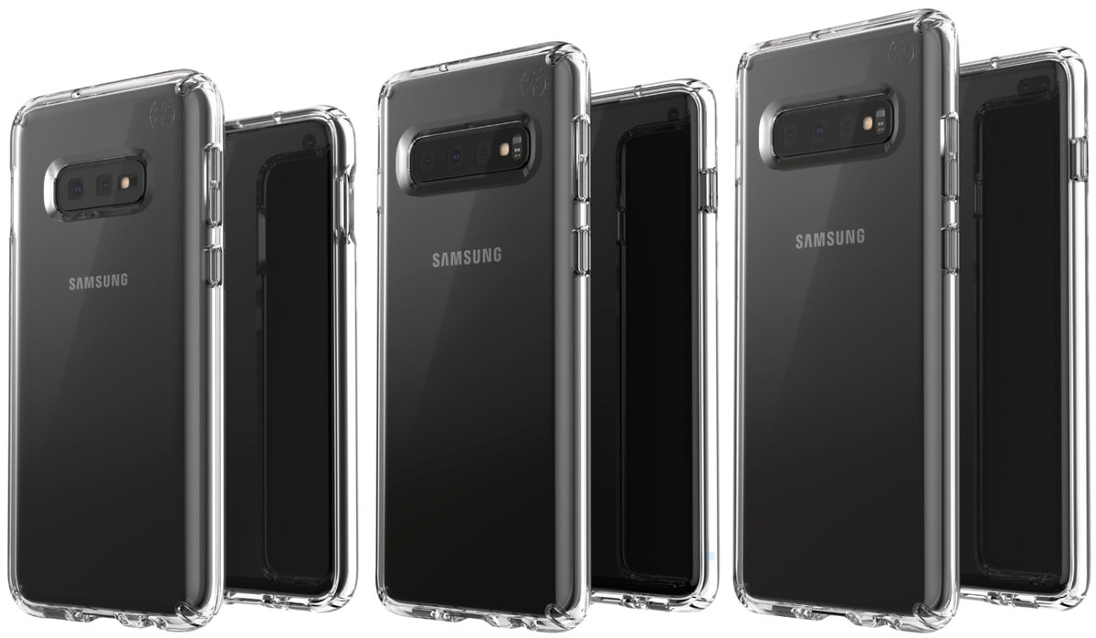 There are three models of Samsung Galaxy S10 and a photo of all three apparently leaked
