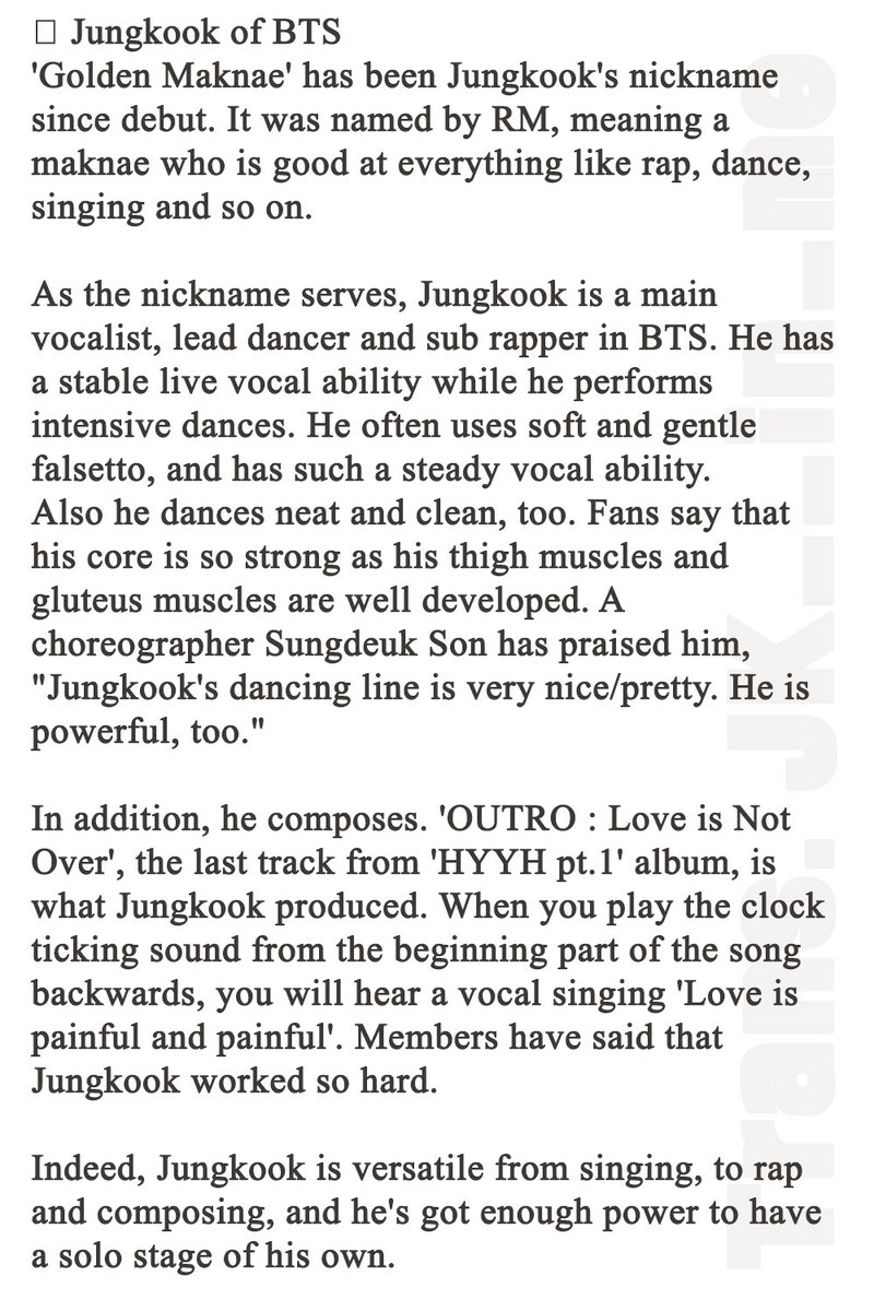 Ammco bus : Bts solo songs meaning