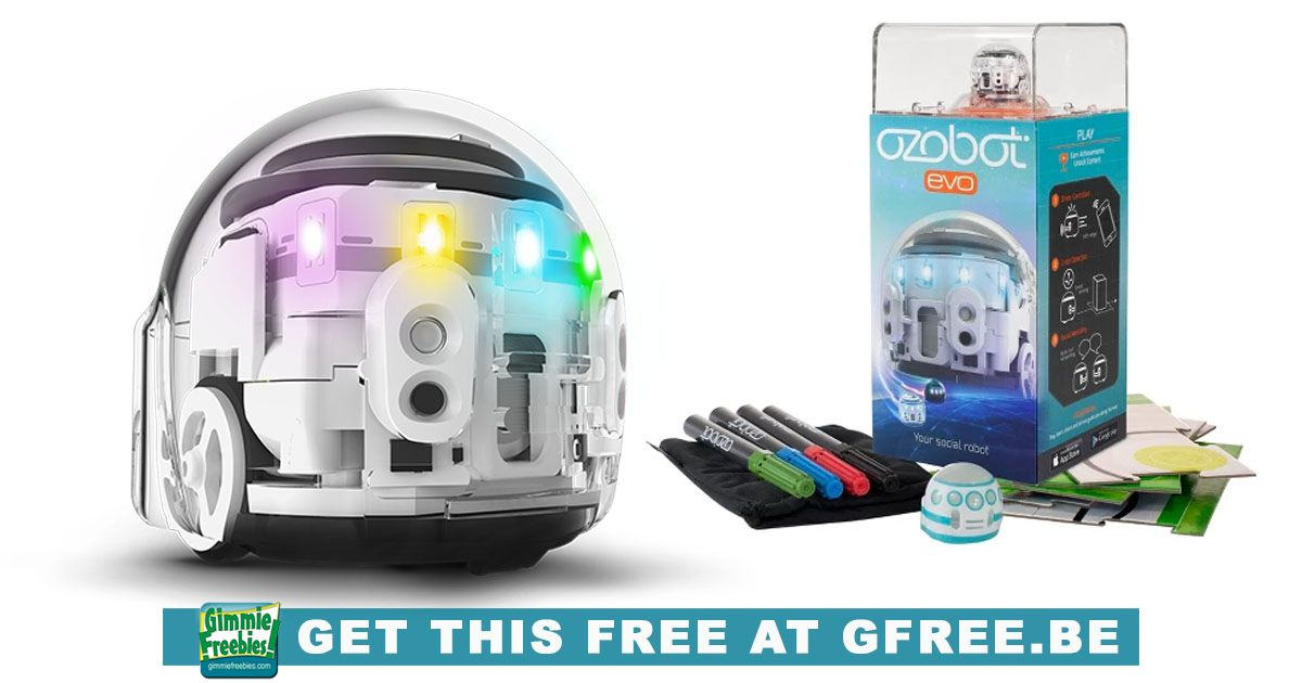 Free Ozobot EVO Robot http://gfre.be/5u7 #girls #school #Challenge #Education #Engineering #Learning #Love #Science #Stem #Students #Tech #Technology #Today #ad