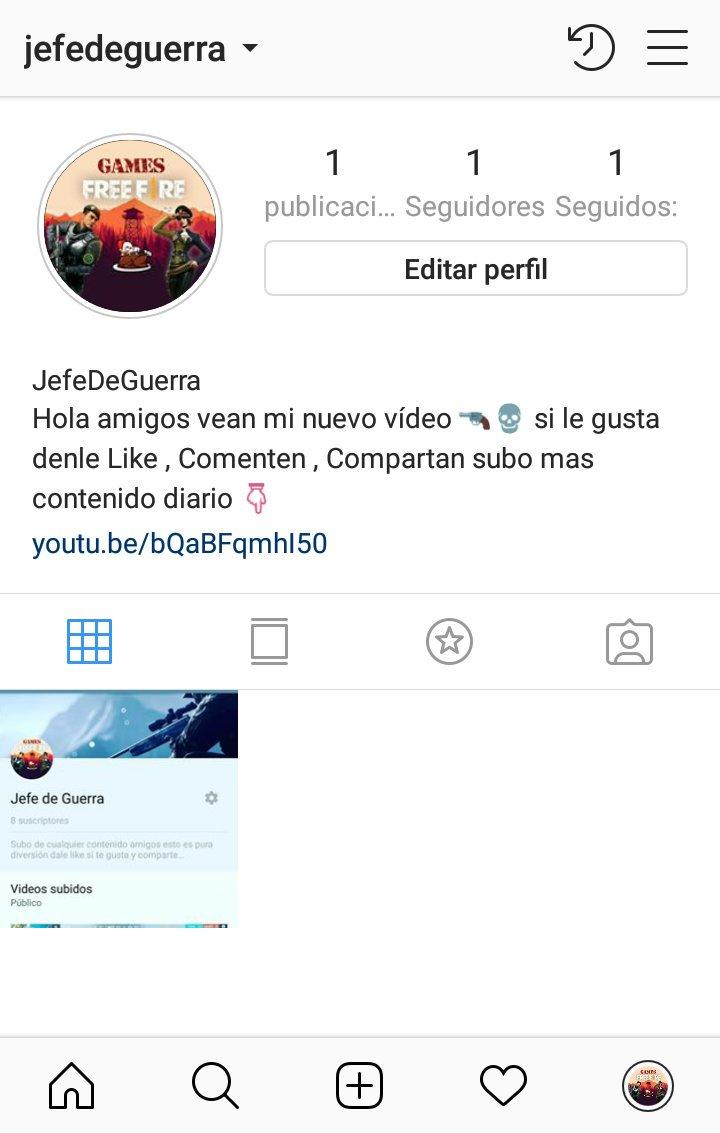 Hola Jefes De Guerra este es mi Instagram siguanme 👇 https://t.co/VRpHNiZ5fA
