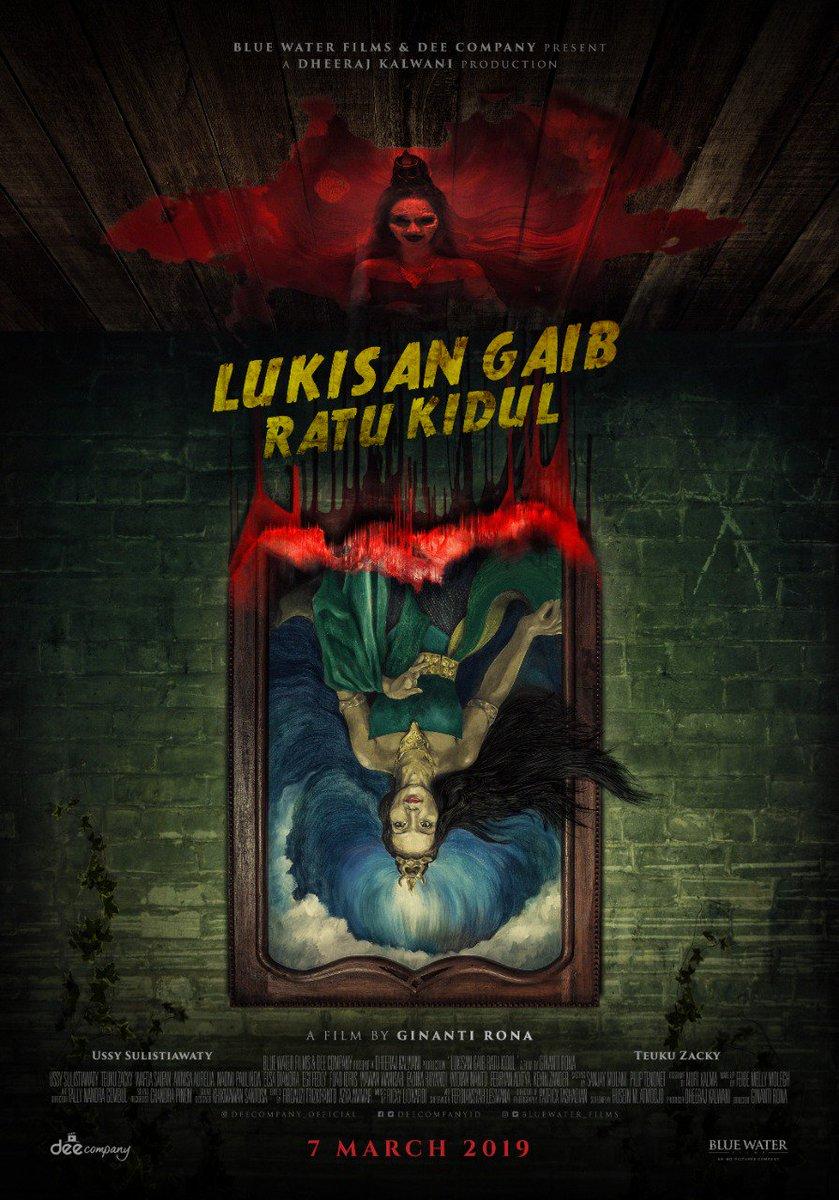 Hasil gambar untuk Lukisan Ratu Kidul (2019) poster