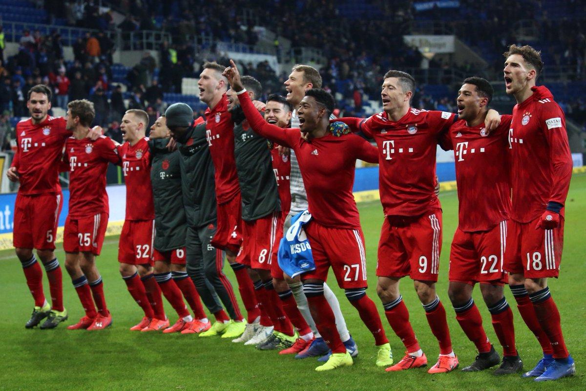 I like that start ⚽️👍3:1 win against Hoffenheim #TSGFCB #FCBayern #MiaSanMia #esmuellert