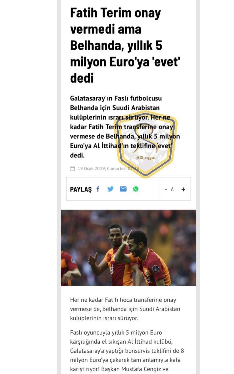 "📍 ""Fanatik"" التركية || بلهنده قال نعم لعرض الاتحاد"