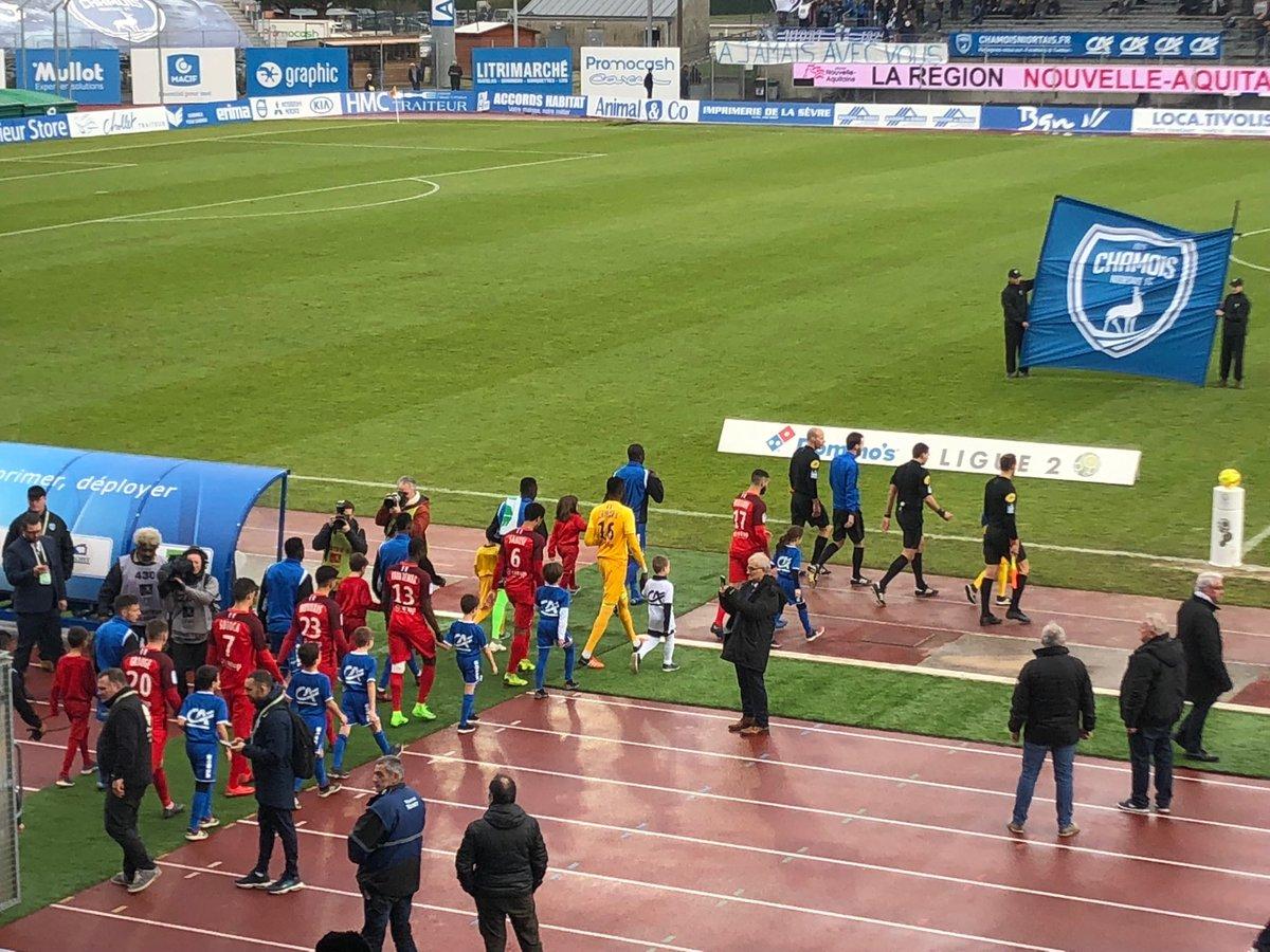Chamois - Grenoble, 21e journée de l2, coup d'envoi imminent #Ligue2