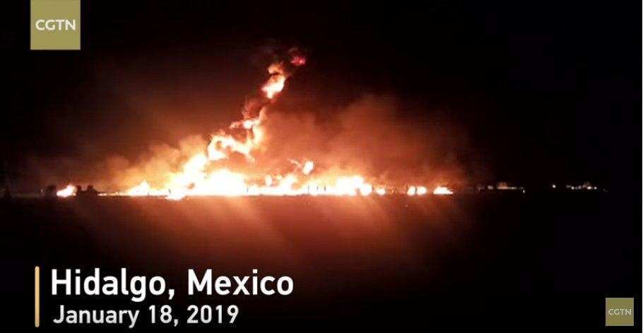 Sobe para 66 o número de mortos na explosão de um oleoduto no México; 76 pessoas ficaram feridas → https://t.co/CF5VWKvhUq
