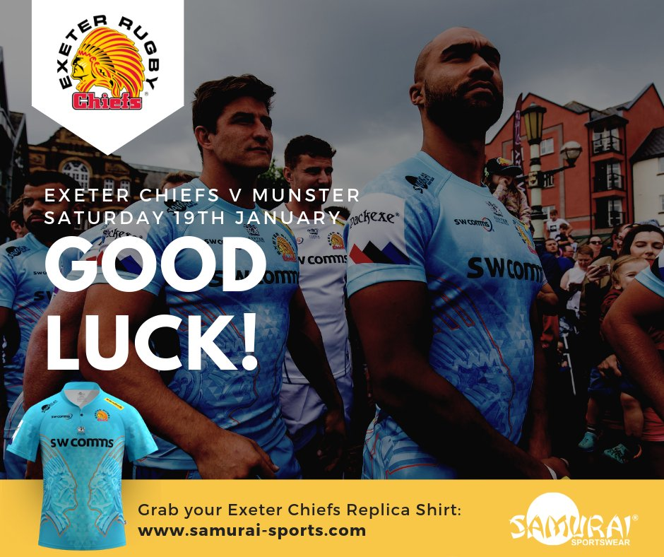 test Twitter Media - Good luck to one of our #SamuraiFamily clubs, Exeter Chiefs today! Grab your official replica shirt here: https://t.co/l70X92tF6R #championscup @exeterchiefs @ChampionsCup https://t.co/2QtoQeLAIa