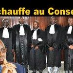 Image for the Tweet beginning: Les juges du conseil constitutionnel