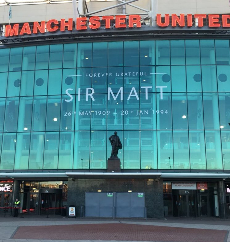 Old Trafford to see United #allRedallEqual