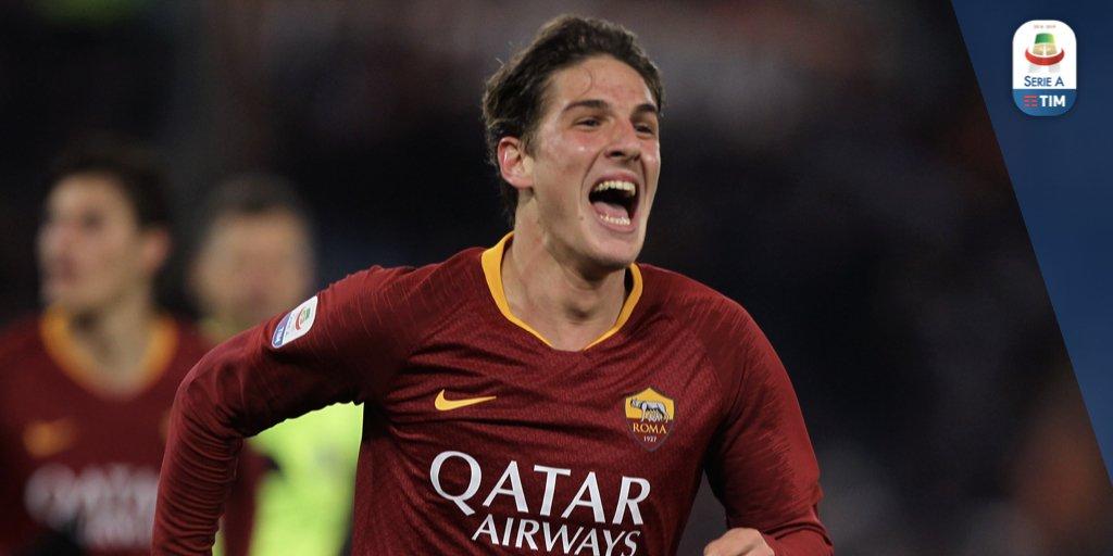 Vantaggio Roma! Zaniolo sblocca la partita!  Roma 1️⃣ - 0️⃣ Torino  #RomaTorino #SerieATIM