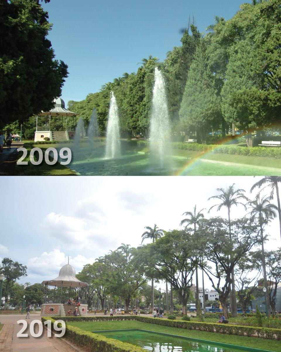 #10yearschallenge de BH: fotos comparam a cidade em 2009 e em 2019 https://t.co/cZ2uzG3cp9