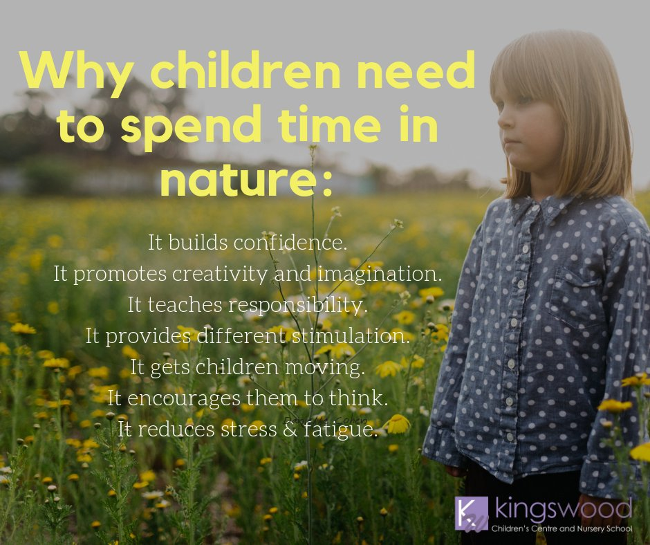 Why Kids Need To Spend Time In Nature >> Pen Green Centre On Twitter Why Children Need To Spend Time In