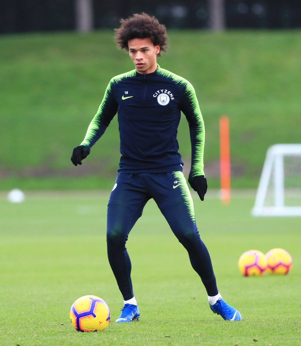 Staying focused 👊🏾⚽️ #LS19 #inSané @ManCity