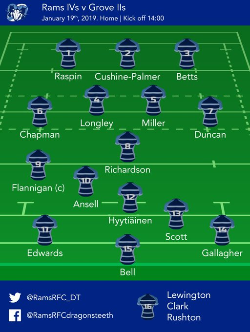 GAME DAY! And here's today's squad taking to the field. Good luck to all playing this weekend Photo