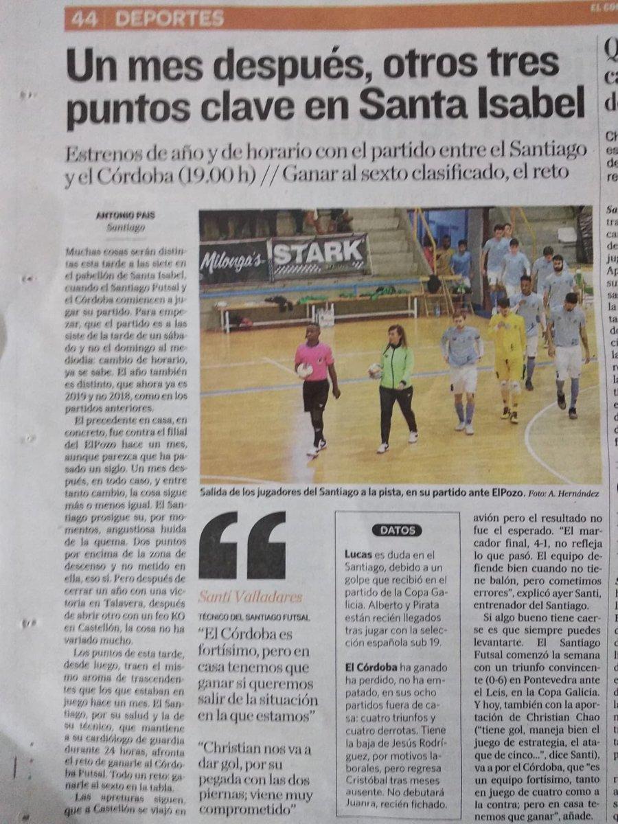 Santiago Futsal's photo on DÍA DE PARTIDO