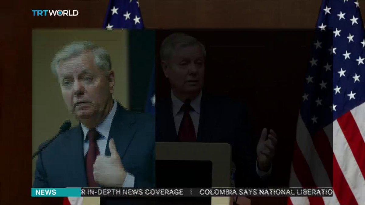 UPDATE: The United States created a 'nightmare' for Turkey by arming YPG – Senator Graham https://www.trtworld.com/turkey/us-arming-ypg-created-a-nightmare-for-turkey-senator-graham-23443…