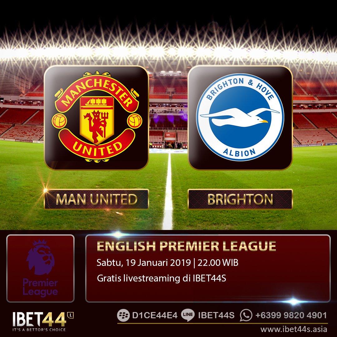 English Premier League  Manchester United vs Brighton Hove Hdp : -1.50 Man United | O/U : 2.75  Join us: http://www.ibet44s.asia BBM : D1CE44E4 | LINE : ibet44s | WA : +6399 9820 4901  #jadwalbola #ligainggris #Brighton #manchesterunited #epl #ibet44 #bandarbola #judibola