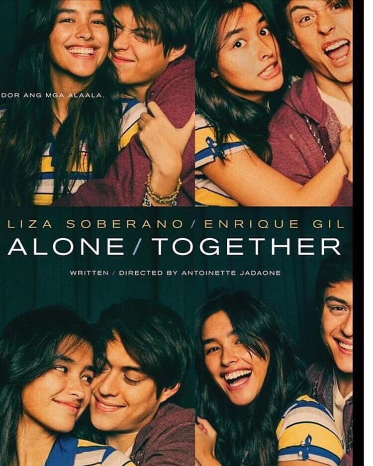 #AloneTogetherPoster ❤️