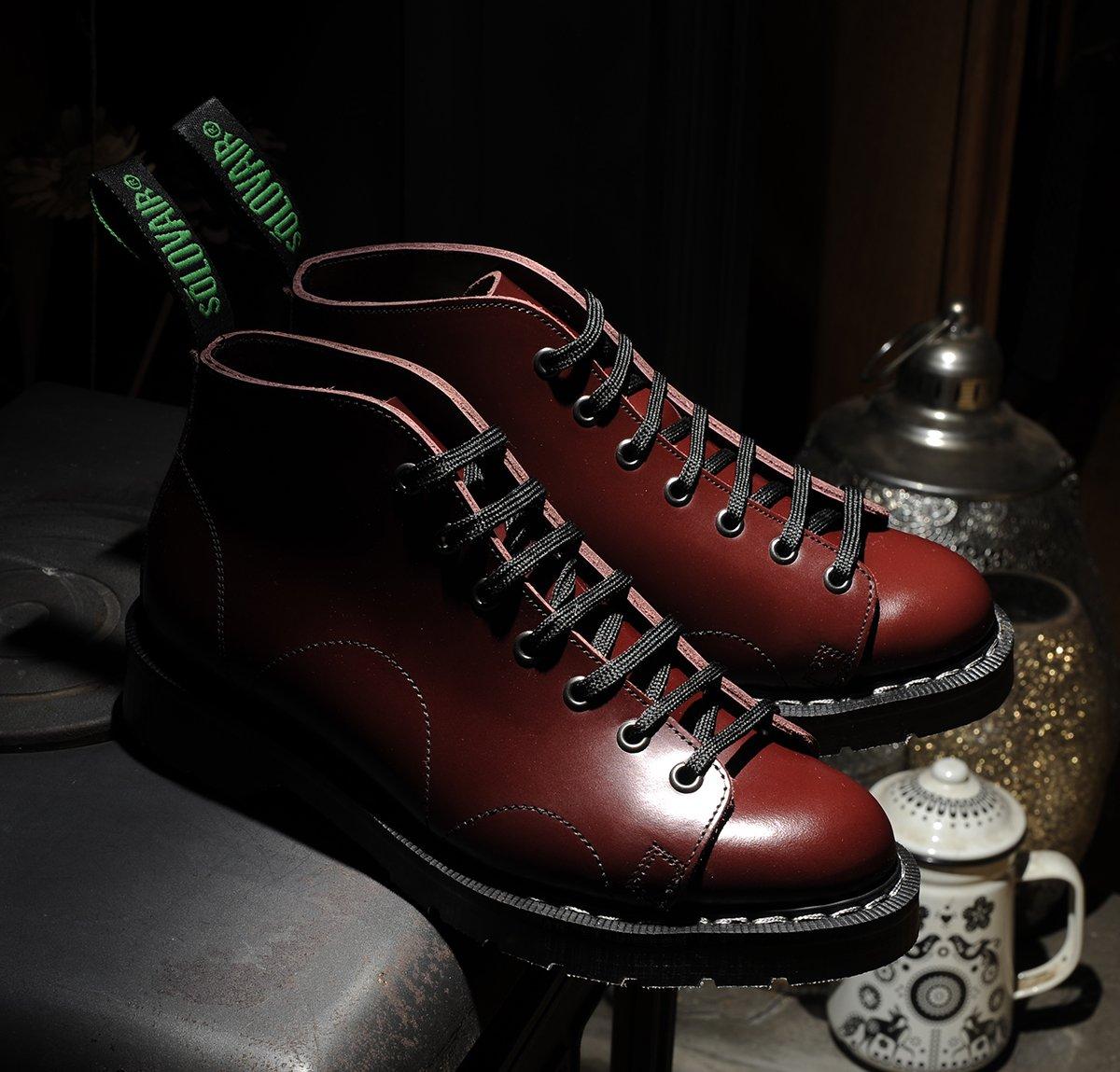 5c72de37ffe Solovair monkey boots oxblood