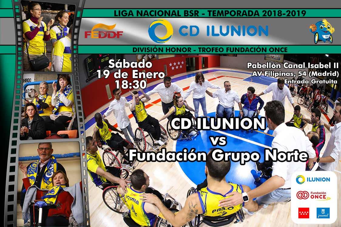 CD ILUNION's photo on DÍA DE PARTIDO
