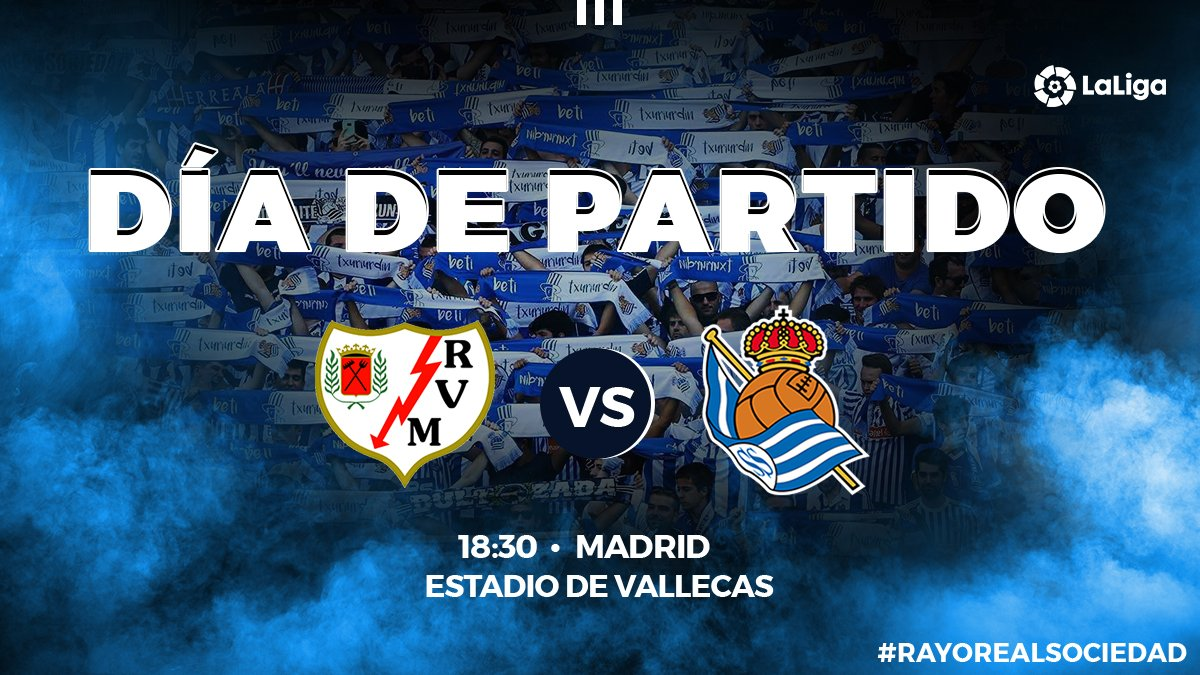 Real Sociedad Fútbol's photo on Vallecas