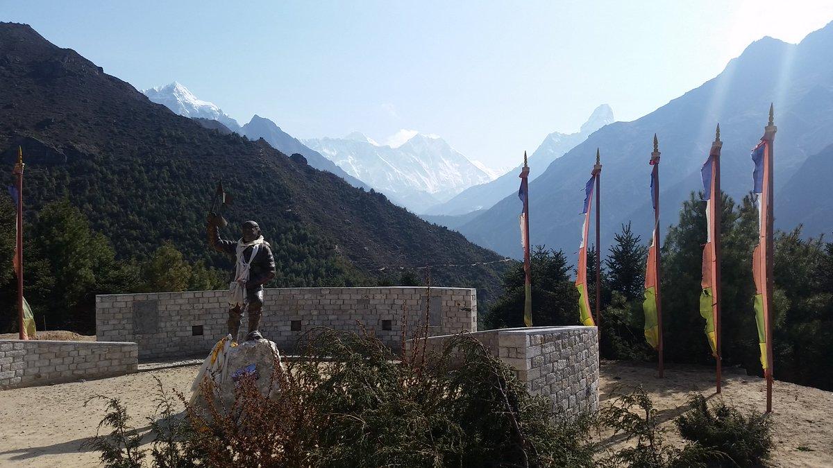 Let's trek to Everest region to see the world highest mountain and many some other #Nepal #Trekking #Hiking #Everest #Everestminitrek  #Sherpa #Climbing #Trek #Trip #Adventure  #Travel #Photography #Sunrise #Sunset #Mountain #Himalayas #Nepalintrepidtreks  https://www.nepalintrepidtreks.com/packages/everest-mini-trek/…