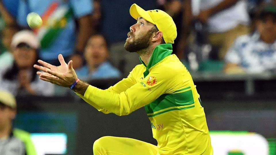 #AUSvIND | @Gmaxi_32 asks for 'catching tips' after horror show in #MelbourneODI    https://t.co/IjyqM6sI29