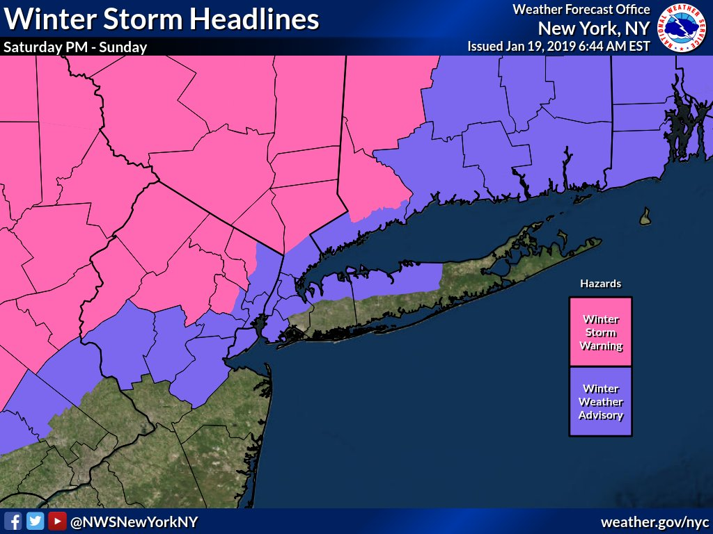 Nws New York Ny On Twitter Saturday Morning Update Thread Winter
