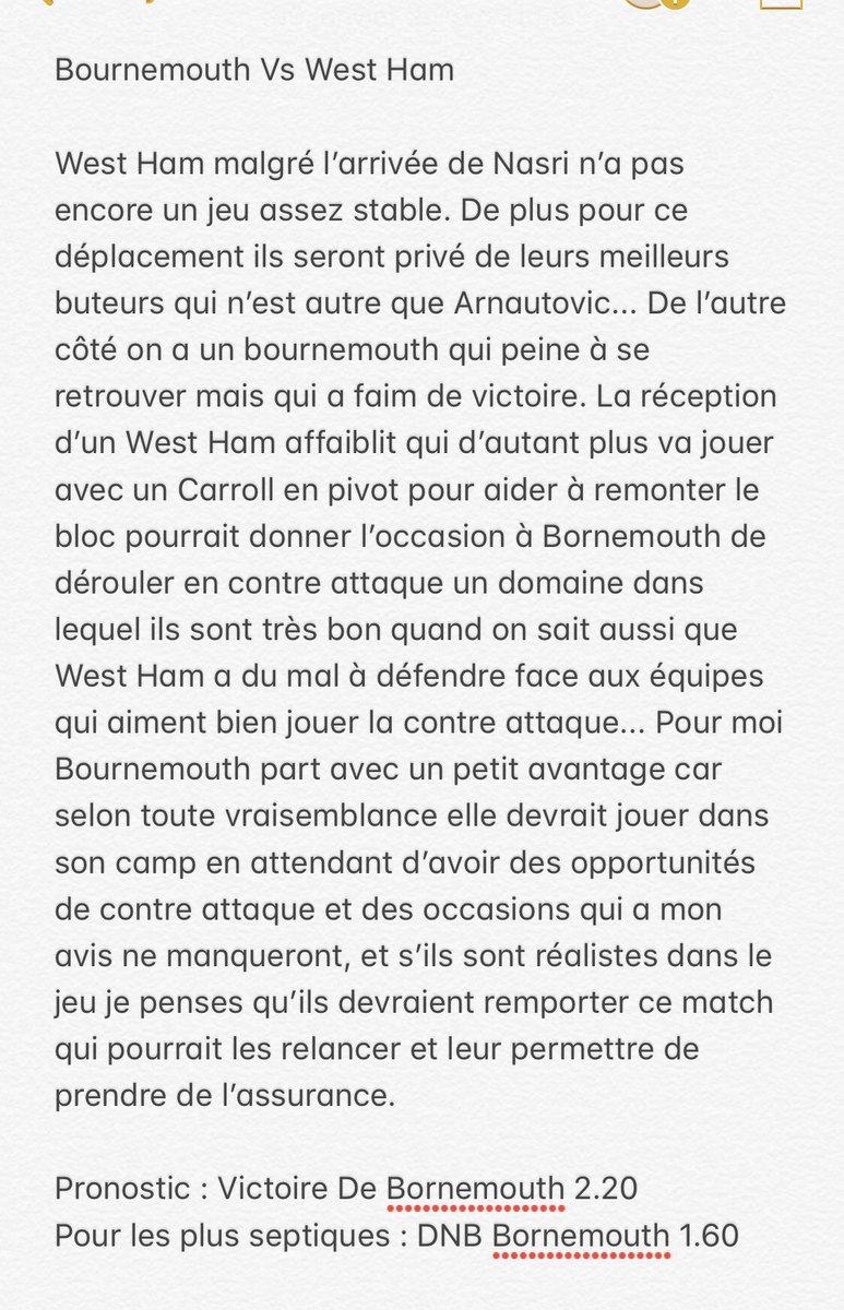 #Picks PL   Analyse et Pronostic en Photo  RT et ❤️ Appréciez   #TeamParieur #ParionsSport