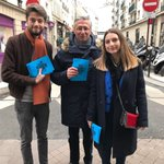 Image for the Tweet beginning: Entre voeux et tractage ce