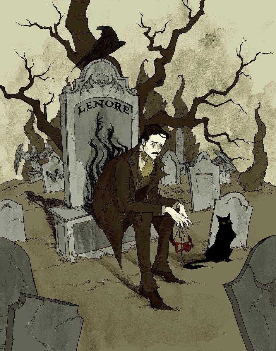 Abigail Larson's photo on Edgar Allan Poe