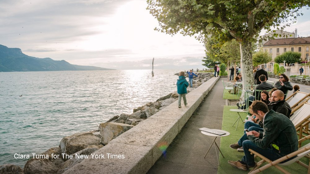 52 Places to Go in 2019, No. 49: Vevey, Switzerland. A once-in-a-generation winegrowers' festival on the Swiss Riviera. https://nyti.ms/2DdWjl8