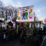 Image for the Tweet beginning: #Agrarwende jetzt! Tolle Stimmung auf