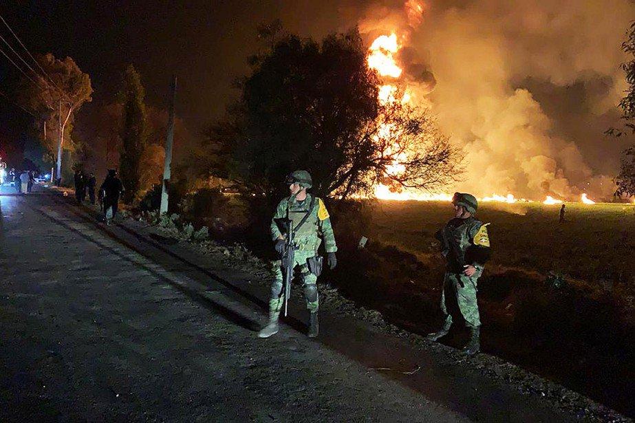 Incendie d'un oléoduc au Mexique: au moins 21morts et 71blessés https://t.co/5qekZmKiIW