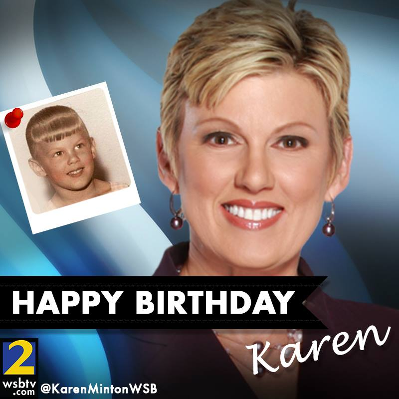 Happy birthday to Severe Weather Team 2 Meteorologist @KarenMintonWSB! We know this will be one of her most fabulous years yet!