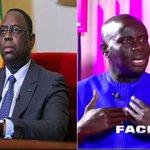 "Image for the Tweet beginning: Macky moque Malick Gackou: ""le"