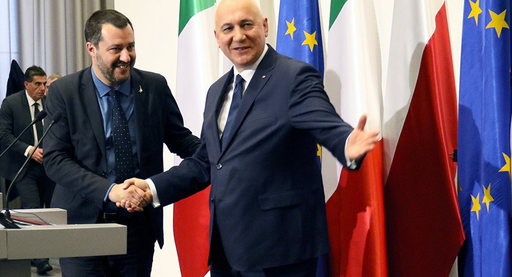 .@matteosalvinimi's #Poland visit may be preparation for power play at home – media https://t.co/VuDG9ML6CH
